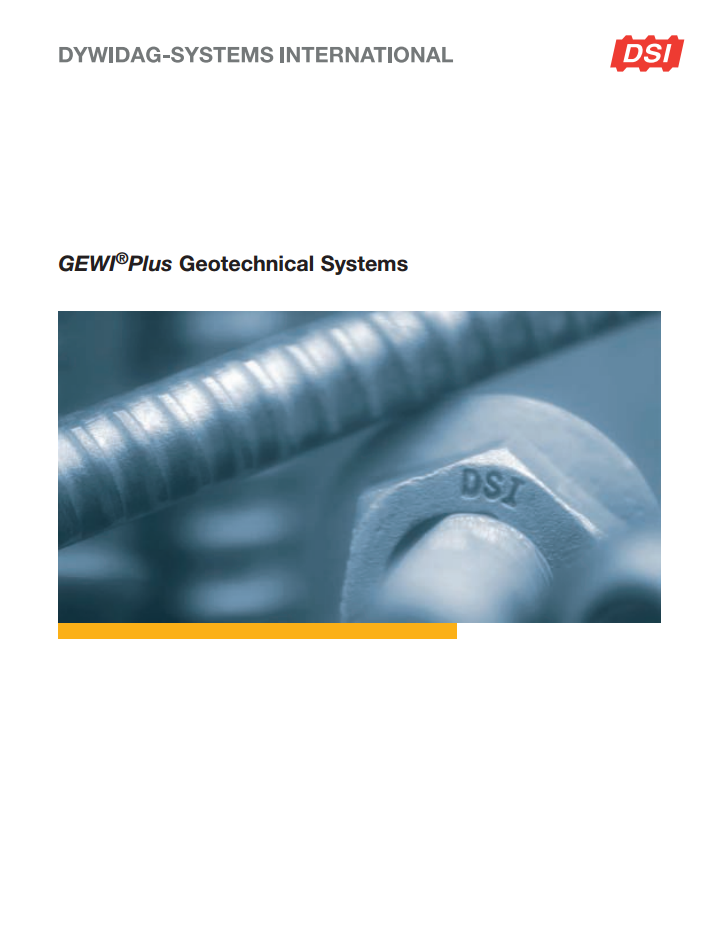 DSI_GEWI-Plus_Geotechnical_Systems_e